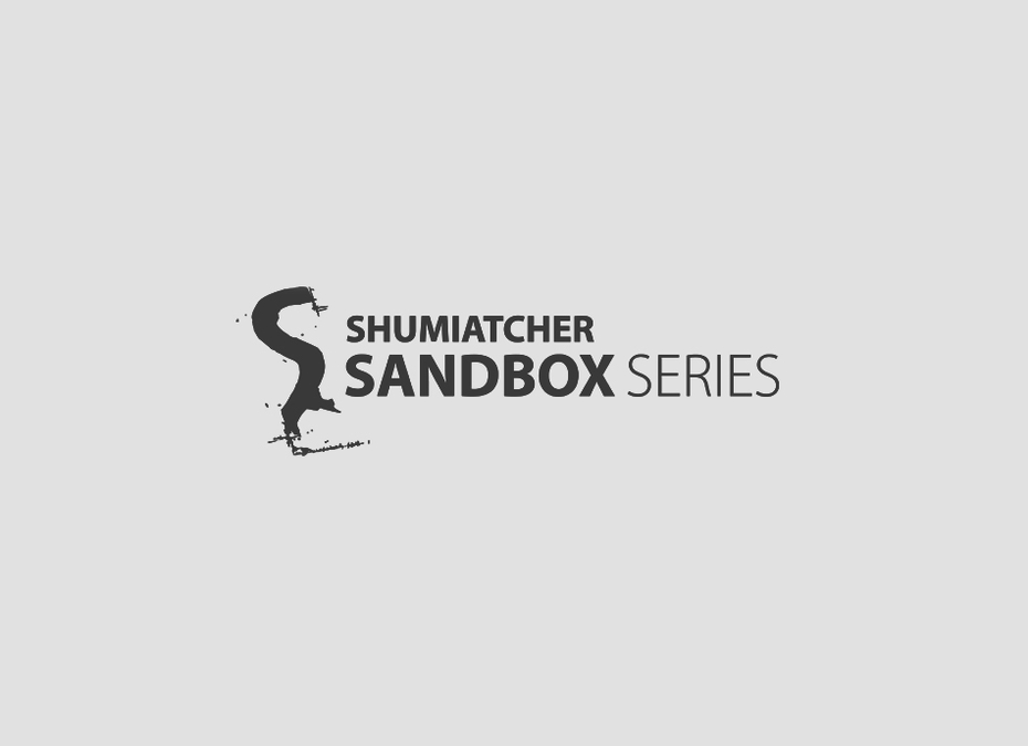 Shumiatcher Sandbox Series logo design